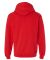 SF76R Fruit of the Loom 7.2 oz. Sofspun™ Hooded  Fiery Red