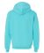 SF76R Fruit of the Loom 7.2 oz. Sofspun™ Hooded  Scuba Blue
