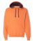 SF76R Fruit of the Loom 7.2 oz. Sofspun™ Hooded  Orange Sherbet