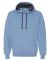 SF76R Fruit of the Loom 7.2 oz. Sofspun™ Hooded  Carolina Heather
