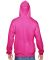 SF76R Fruit of the Loom 7.2 oz. Sofspun™ Hooded  Cyber Pink