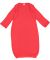 4406 Rabbit Skins Infant Baby Rib Lap Shoulder Lay Red