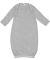 4406 Rabbit Skins Infant Baby Rib Lap Shoulder Lay Heather