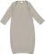 4406 Rabbit Skins Infant Baby Rib Lap Shoulder Lay Titanium