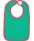 RS1004 Rabbit Skins Infant Jersey Contrast Trim Ve Kelly/ Red