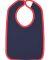 RS1004 Rabbit Skins Infant Jersey Contrast Trim Ve Navy/ Red
