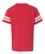 6137 LAT Jersey Youth Football Tee VN RED/ BLD WHT