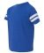 6137 LAT Jersey Youth Football Tee VN ROYAL/ BD WHT