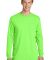 Port & Company PC099LS Pigment-Dyed Long Sleeve Te Neon Green
