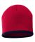 SP09 Sportsman  - 8 Inch Bottom Striped Knit Cap - Red/ Navy