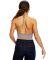 US Blanks US223 Women's Halter Bodysuit Tri-brown
