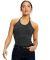 US Blanks US223 Women's Halter Bodysuit Tri-charcoal