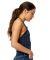 US Blanks US223 Women's Halter Bodysuit Tri-navy