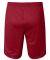 S162 Champion Logo Long Mesh Shorts with Pockets Scarlet