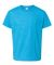 Gildan 64500B SoftStyle Youth Short Sleeve T-Shirt HEATHER SAPPHIRE