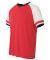 Alternative 5093 Vintage 50/50 Jersey Slapshot Tee RED/ WHITE/ BLK