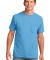 Port & Co PC54P mpany   Core Cotton Pocket Tee Aquatic Blue