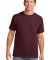 Port & Co PC54P mpany   Core Cotton Pocket Tee Athl Maroon
