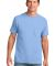 Port & Co PC54P mpany   Core Cotton Pocket Tee Light Blue