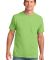 Port & Co PC54P mpany   Core Cotton Pocket Tee Lime