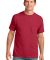 Port & Co PC54P mpany   Core Cotton Pocket Tee Red