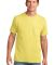 Port & Co PC54P mpany   Core Cotton Pocket Tee Yellow