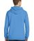 Port & Co PC098H mpany   Pigment-Dyed Pullover Hoo Blue Moon
