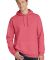 Port & Co PC098H mpany   Pigment-Dyed Pullover Hoo Fruit Punch
