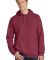 Port & Co PC098H mpany   Pigment-Dyed Pullover Hoo Merlot