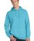 Port & Co PC098H mpany   Pigment-Dyed Pullover Hoo Tidal Wave