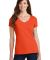 Port & Company LPC450V Ladies Fan Favorite V-Neck  Orange