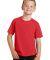 Port & Co PC450Y mpany   Youth Fan Favorite Tee Bright Red