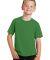 Port & Co PC450Y mpany   Youth Fan Favorite Tee Kiwi Green