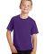 Port & Co PC450Y mpany   Youth Fan Favorite Tee Team Purple