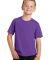 Port & Co PC450Y mpany   Youth Fan Favorite Tee True Purple