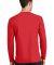 Port & Co PC450LS mpany   Long Sleeve Fan Favorite Bright Red