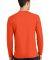 Port & Co PC450LS mpany   Long Sleeve Fan Favorite Orange