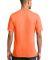 Port & Co PC54V mpany   Core Cotton V-Neck Tee Neon Orange