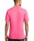 Port & Co PC54V mpany   Core Cotton V-Neck Tee Neon Pink