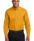 Port Authority TLS608    Tall Long Sleeve Easy Car Ath Gold/LtStn