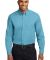 Port Authority TLS608    Tall Long Sleeve Easy Car Maui Blue
