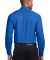 Port Authority TLS608    Tall Long Sleeve Easy Car Strong Blue