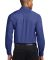 Port Authority S608ES    Extended Size Long Sleeve Med. Blue
