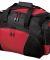 Port Authority BG91    - Metro Duffel Black/Red