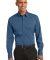 Port Authority S646    Stretch Poplin Shirt Moonlight Blue