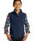 Port Authority Y219    Youth Value Fleece Vest True Navy