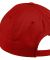 Port Authority C800    Fine Twill Cap Red