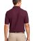 Port Authority TLK500P    Tall Silk Touch Polo wit Burgundy