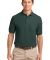 Port Authority TLK500P    Tall Silk Touch Polo wit Dark Green