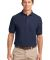 Port Authority TLK500P    Tall Silk Touch Polo wit Navy